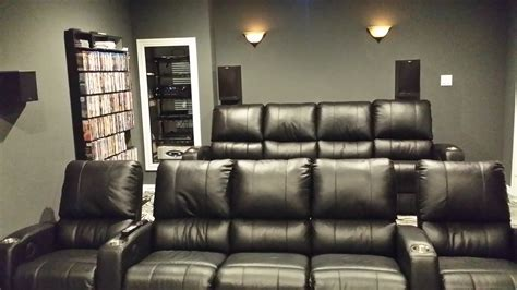theater with couches palliser pacifico home theatre chairs