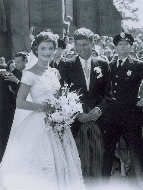 Wedding F by Jackie And F Kennedy S Wedding Photos See