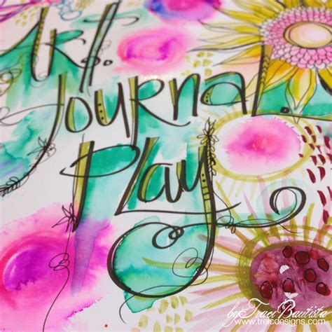 Creative Lettering Journaling Creative Lettering Tips Journal Play Handlettered
