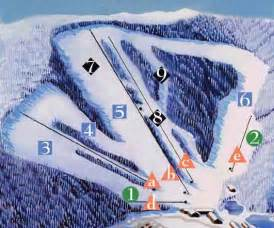 carolina skiing map nc ski map beautiful scenery photography
