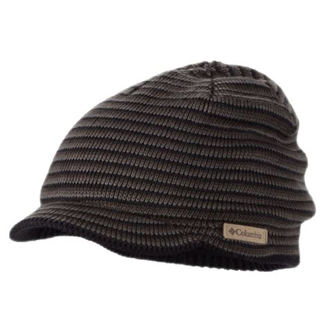 knitted helmet columbia sportswear northern peak knit acrylic visor