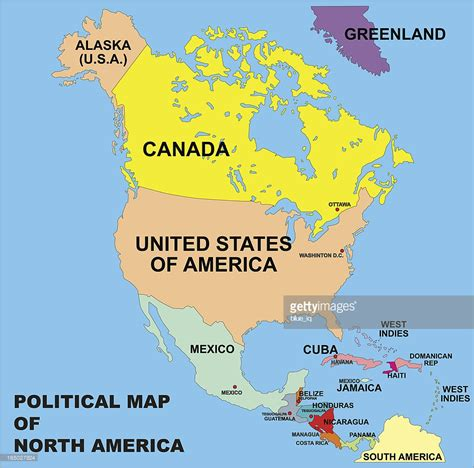 america political map eduplace political map of america in vector format vector
