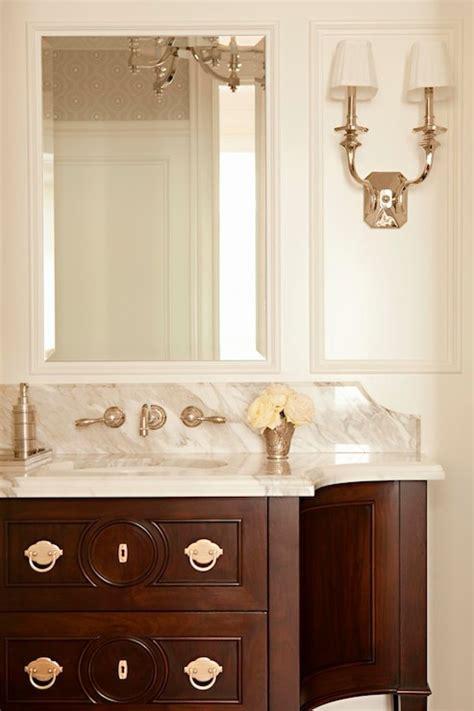 Mahogany Bathroom Accessories Mahogany Bathroom Vanity Design Ideas