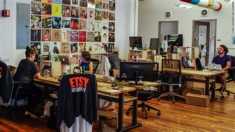 Etsy Office by Etsy Offers Generous Paid Parental Leave Policy For