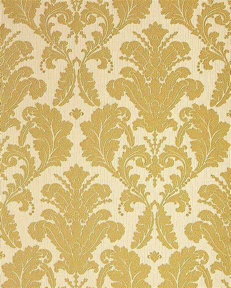 gold wallpaper designs uk edem 752 31 luxury heavyweight baroque damask vinyl