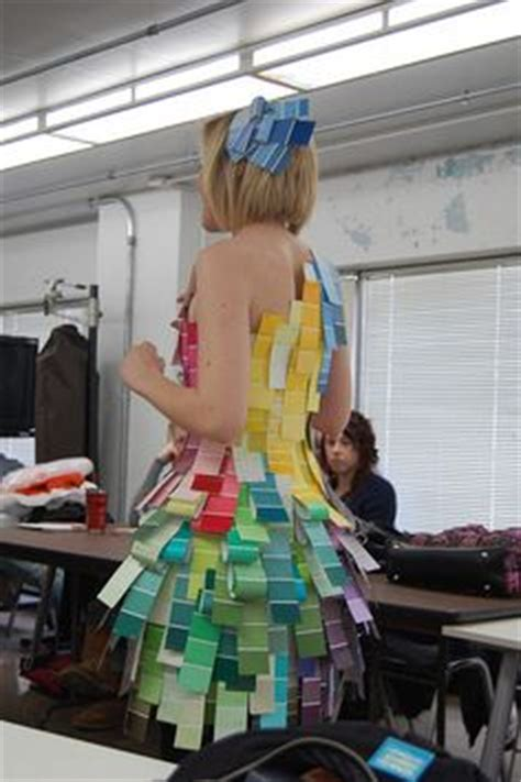 How To Make A Paper Dress To Wear - 1000 ideas about recycled dress on newspaper