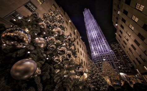 rockefeller center christmas tree wallpaper new york hd wallpaper and background image 1920x1200 id 667773