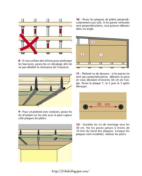 Comment Réaliser Un Faux Plafond by Realiser Un Faux Plafond