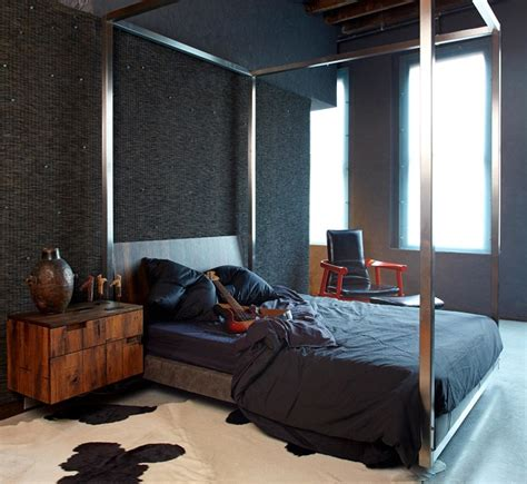 Loft Bedroom Nyc Eclectic Loft In New York Chic Ambiance 171 Interior Design