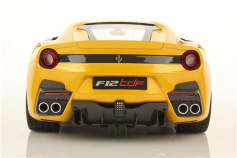 ferrari f12 back ferrari f12 tdf 1 18 mr collection models