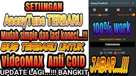 setting anonytune video max anonytune heboh video max jabar bangkit dari