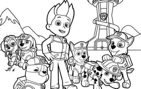 colorea tus dibujos dibujos de caricaturas colorea tus dibujos dibujos de paw patrol para colorear y