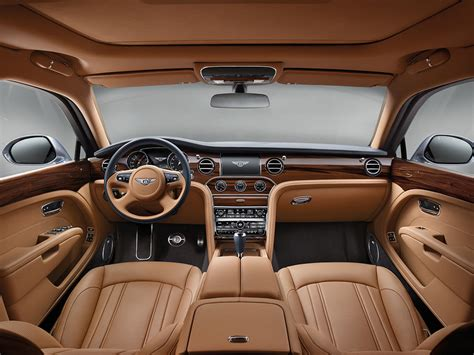 bentley inside roof insanely luxurious bentley mulsanne get new turbocharged v8