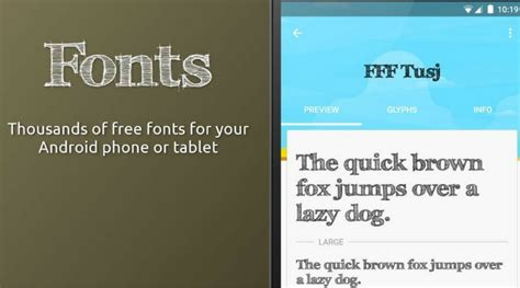 fonts for android free the 85 best fonts for android
