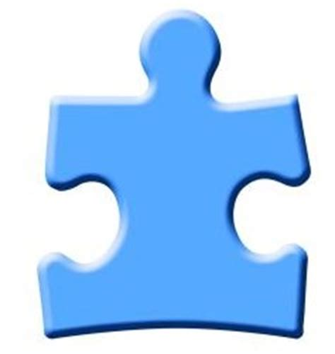 large puzzle piece template clipart best