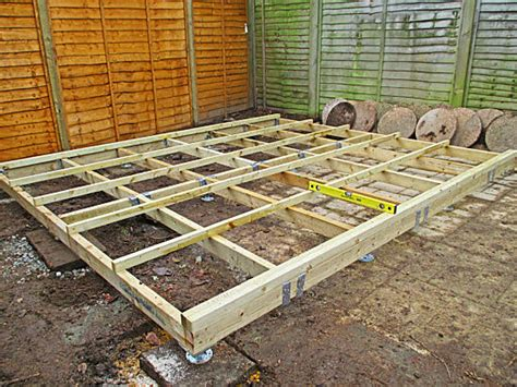 shed floor strong  durable