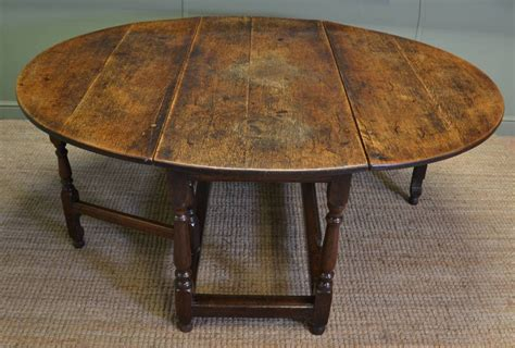 Antique Oak Drop Leaf Dining Table Large Eighteenth Century Country Oak Antique Drop Leaf Gate Leg Dining Table C 1750 United
