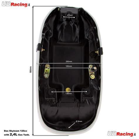 50ccm Motorrad Tuning by Sitzbank Tuning F 252 R Dax 50 Ccm Bis 125 Ccm Wei 223 2 4l