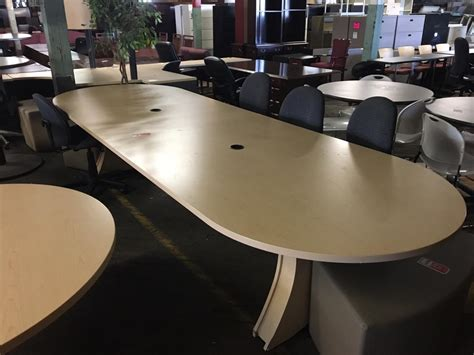 used hon conference table nashville office furniture