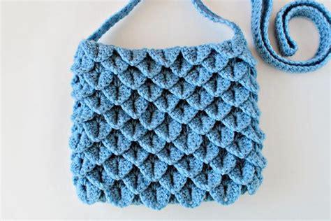 crochet pattern crocodile stitch bag crochet pattern crochet crocodile stitch bag pattern no