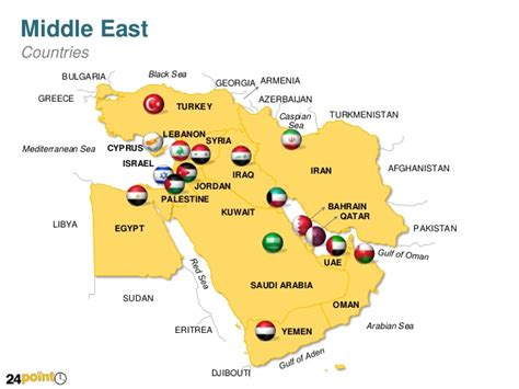 middle east map nicosia middle east countries powerpoint map