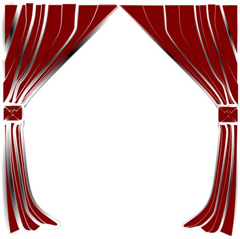 red curtain clipart curtains clip art at clker com vector clip art online