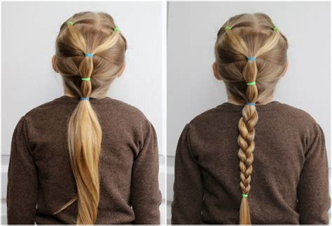 Easy Hairstyles Dads Can Do | ten quick and easy hairstyles for your daughter which even