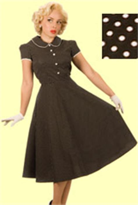 50s swing fashion 50s dress
