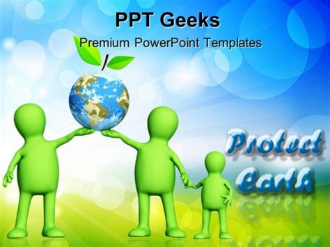 ppt themes environment protect earth environment powerpoint templates and