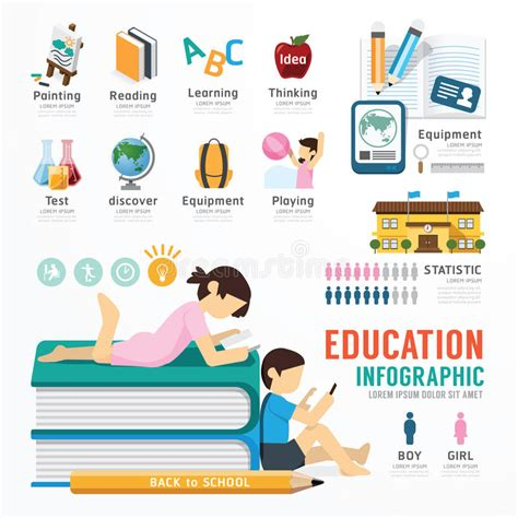 Infographic Education Template Design Concept Vector Stock Vector Image 44347945 Free Infographic Templates For Students