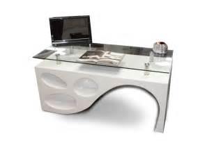 Modern office desks glass desks executive office furniture throughout