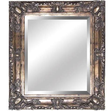 wood wall mirrors decorative yosemite home decor 27 in x 31 in rectangular decorative