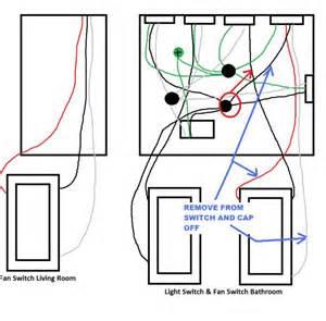 3 way bathroom fan wiring help doityourself