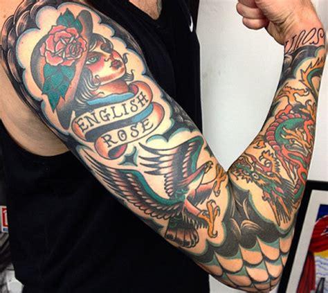 estilos de tatuajes old vieja escuela