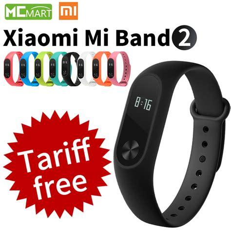 Terlaris Xiaomi Mi Band 2 Oled Original Free 2 Screenguard Lpi1175 original xiaomi mi band 2 miband2 wristband bracelet with smart rate fitness touchpad oled