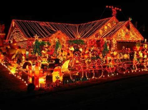 bright christmas lights bright colors photo 17363803