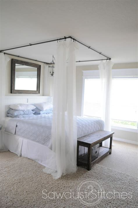 diy bedroom canopy canopies diy canopy bed
