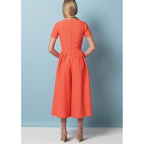 buy vogue very easy dress and jumpsuit sewing pattern