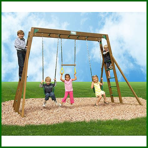 swing sets with monkey bars classic monkey bar play gym by creative playthings
