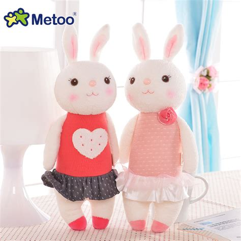 Mainan Anak Perempuan Boneka Anak Bayi Metoo Soft Doll 2 mewah manis lucu indah stuffed bayi anak toys untuk anak