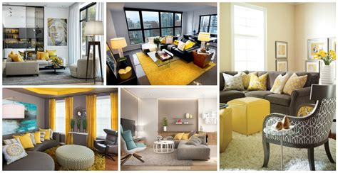 yellow accent living room 16 stylish yellow accent living rooms to cheer you up