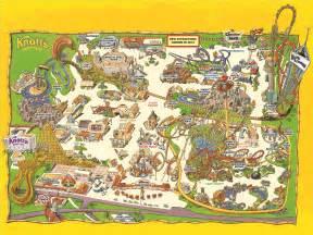 park map knott s berry farm buena park ca buy