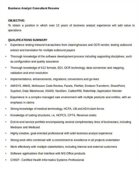 15 simple business resume templates pdf doc free