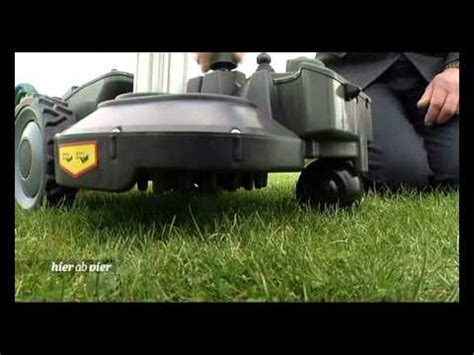Test Roboter Rasenmä 2012 by Rasenm 228 Roboter Test Mdr 2012 Quot Hier Ab Vier Quot