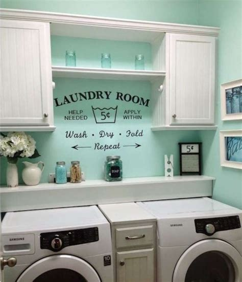 decorating laundry room walls countertops and shelves wall decor for laundry room