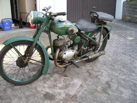 125ccm Motorrad Typen by Anker 661 Bj 1949 Mit 125ccm Ilo Motor Typ Mg125e 98 En