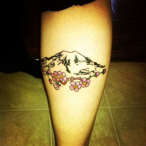washington state tattoo of mt rainier its about me