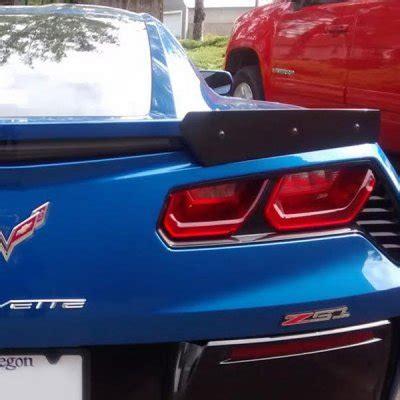 c7 corvette stingray bolt on wicker spoiler conversion kit