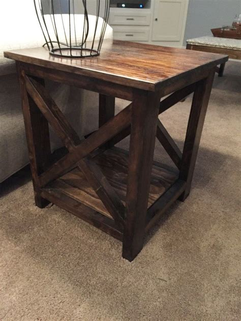 Diy Living Room Table Best 25 Diy End Tables Ideas On Pinterest Dyi End Tables Woodworking End Table And Farmhouse