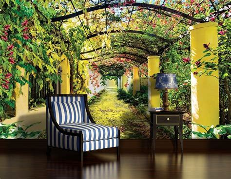 garden wall murals cheap wall murals uk home design